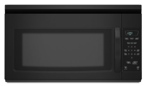 over the range microwave in black - 5