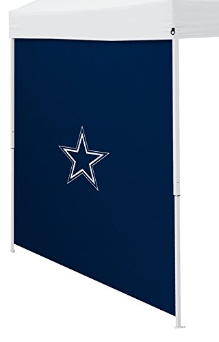 Logo Brands NFL Dallas Cowboys Side Panel, One Size, Navy