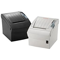 Bixolon SRP-350IIOBEiG Series Srp-350II Thermal PRINTER with Power Supply, USB/Ethernet/Bluetooth, White