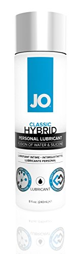 System Jo Hybrid Lubricant, 8 Ounce