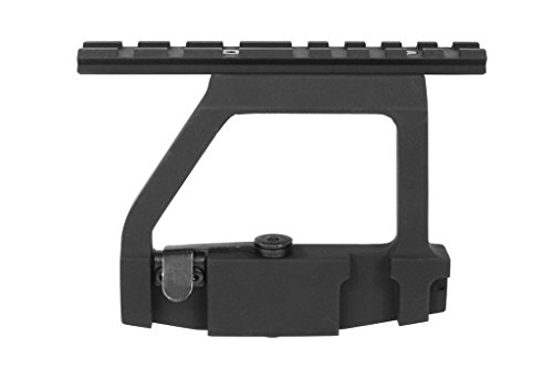 Taousa 70223 QD Quick Release Sight Rail Mount, Aluminum Alloy Tactical Side Mount, for Airsoft SVD AKS47 AKS47U AEG