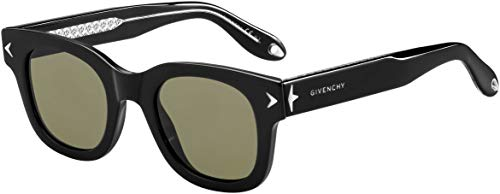 Givenchy 7037/S Y6C Black 7037/S Round Sunglasses Lens Category 3 Size ()