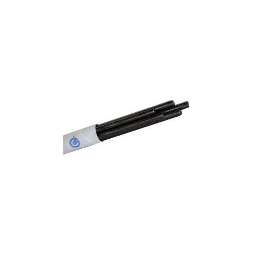 Precision Brand 27590 Threaded Rod, Plain Oil Finish, 72'' Length, National Coarse 2-4-1/2 Thread, Low Carbon Steel by Precision Brand