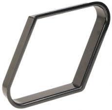 Triangulo rombo bola 9 plastico negro 4059. 100