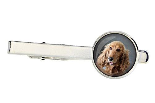 English Cocker Spaniel, Tiepins for dog lovers, Photo-Jewelry, Jewelry for Men, Handmade