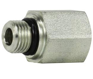 6405-02-04 Hydraulic Fitting 1//8 Male BOSS X 1//4 Female Pipe Carbon Steel