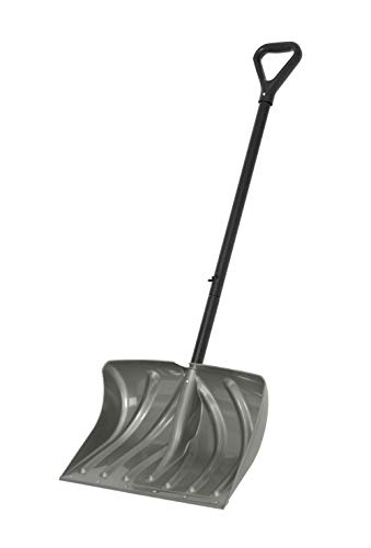 Suncast SC2700KDD Snow Shovel, Grey, Black