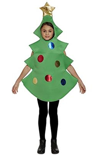 (Henbrandt Child Christmas Tree Fancy Dress Costume Age 7-9 Years)