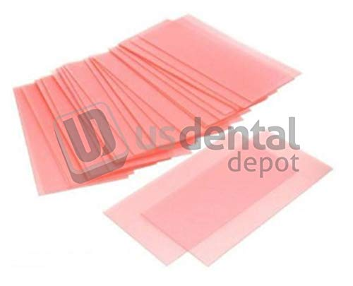 CORNING- Casting Wax Pink 26 Gauge - Sheet - 2.88in x 5.88in Lg Bx - 1Lb Box - (mfg #083) Single Gauge - Smooth- Flexible Sheets - Designing Patterns Non-Shrinking - (ram) 112941 Us Dental Depot