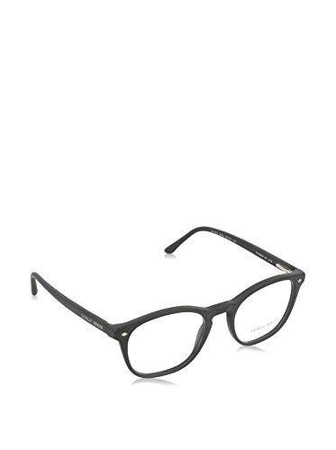 Giorgio Armani Montures de lunettes 7074 Pour Homme Dark Tortoise, 48mm Noir