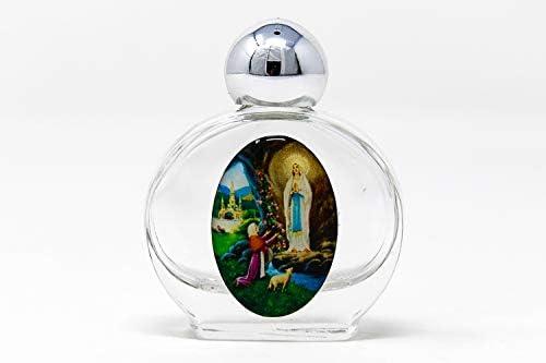 Botella de agua bendita rellena de agua de Lourdes: Amazon.es: Hogar