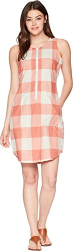 (Woolrich Women's Over and Out Dress Baked Clay Check Large)