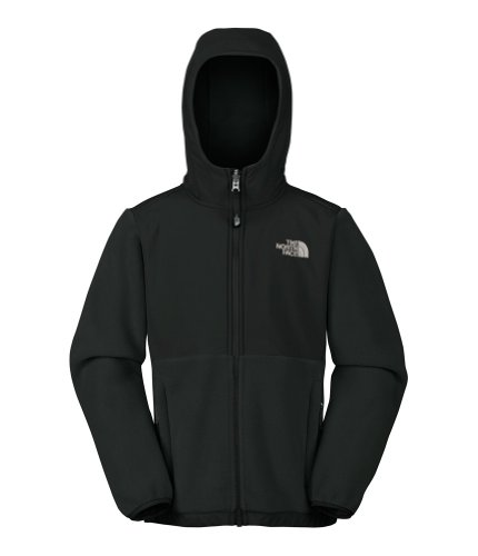 The North Face Denali Hoodie Girl's R TNF Black S (7-8) by The North Face