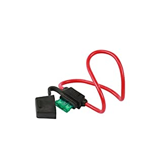WirthCo 31820 Battery Doctor In-Line ATO/ATC Fuse Holder with Cover