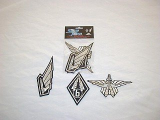 Starship Troopers Three embroidered Patches