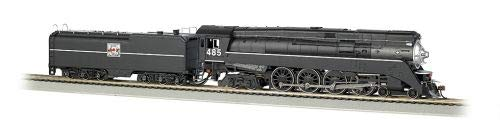 CLASS GS64 4-8-4 W/DCC -- WESTERN PACIFIC #485 (BLACK) for sale  Delivered anywhere in USA