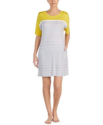 DKNY Sleepshirt Grey Print Medium