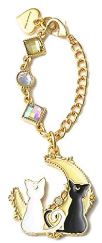 Moon Key - GK-O Anime Sailor Moon Key Chain Keychain Keyring Bag Pendant (Luna & Artemis)