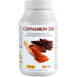 Cinnamon 350 360 Capsules by Andrew Lessman