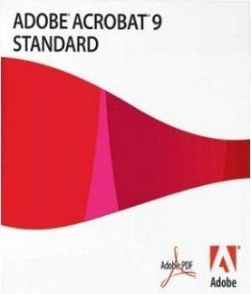 Adobe Acrobat 9 Standard - Full Version (Windows)