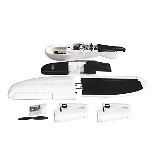 - Smartlove1P ZOHD Nano Talon 860mm Wingspan Detachable V-Tail EPP RC FPV Plane Airplane Model PNP Version with Motor Gyro Servos