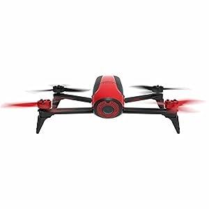 Parrot Bebop 2 Quadcopter Drone (Certified Refurbished) (Red)