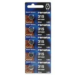 Renata 315 Battery Individually 5 Packs