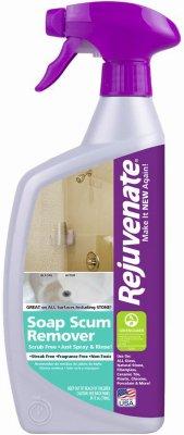 Finish Soap Scum Remover Antibacterial Unscented Bottle Bottle 24 Oz by Rejuvenate