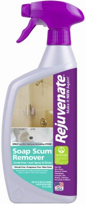 Finish Soap Scum Remover Antibacterial Unscented Bottle Bottle 24 Oz by Rejuvenate (Image #1)