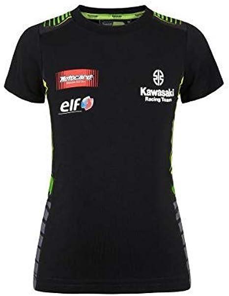 Kawasaki SBK Kids Camiseta Negro/Verde Talla/Talla - Niños 164: Amazon.es: Ropa y accesorios