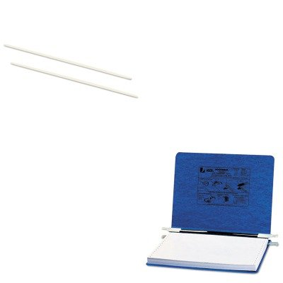 Acco Pressboard Hanging Data Binder ACC54133 ACC50104 Value Kit KITACC50104ACC54133 and Acco Data Flex 8-1//2 Nylon Posts For Top//Bottom Loading Binders