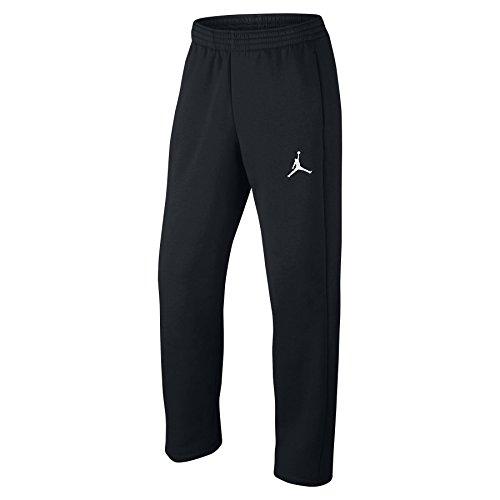 Nike Mens Jordan Flight Basketball OH Fleece Sweatpants Black/White 823073-010 Size Large by NIKE