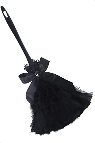 Feather Duster Costume (Black Feather Duster Prop)