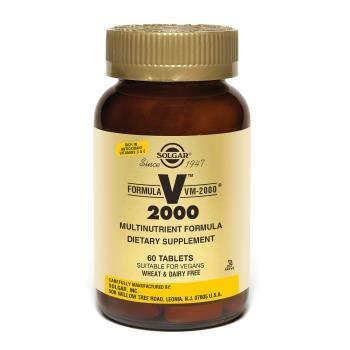 Multi Nutrient System - Solgar - Formula VM-2000 (Multi-nutrient System) 90 Tablets