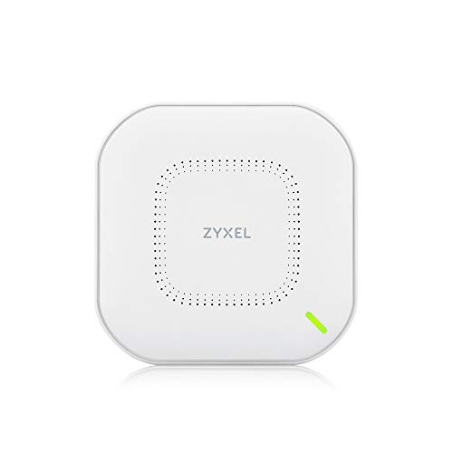 ZyXEL True WiFi6 Wireless Access Point (802.11ax Dual Band), 1,77Gbps with Quad Core CPU and Dual 2x2 MU-MIMO Antenna, Manageable via Nebula APP/Cloud or Standalone [NWA110AX]