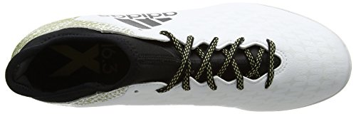 adidas X 16.3 In, Botas de Fútbol para Hombre, Blanco (White), 46 EU