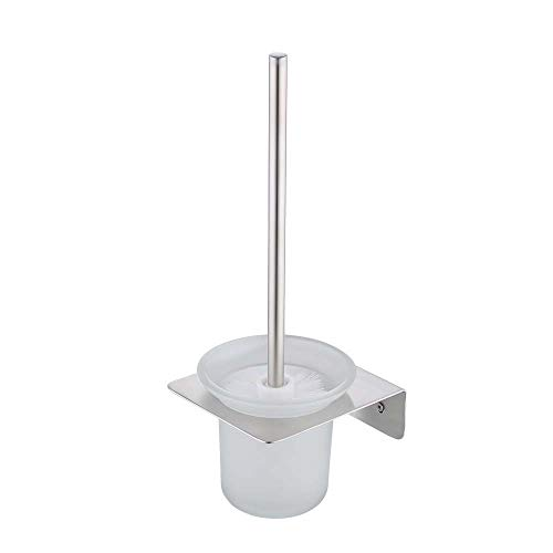 KES Toilet Brush and Holder Set SUS304 Stainless Steel Wall Mount Brushed Finish, ()