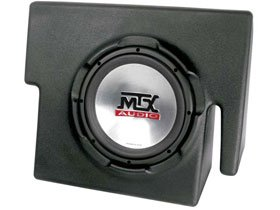 Amazon com MTX Amplified Subwoofer Enclosure for Dodge