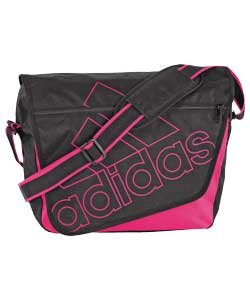 pink adidas messenger bag