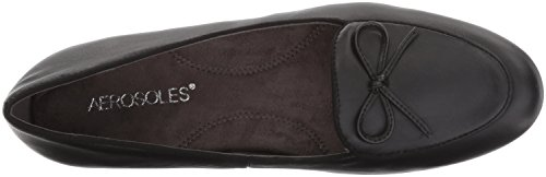 sneakernews cheap price Aerosoles Women's Feel Good Slip-On Loafer Black Leather cheap price buy discount gVBisTM