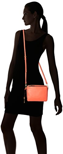 Orange Lava Cross Bag Body Campbell Fossil Women's ZXwqxU