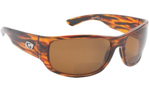 Guideline Eyegear Wake Bifocal +2.00 Sunglass, Tortoise Frame, Freestone Brown Polarized Lens, - Sunglasses Polarized Guideline