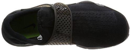 Nike musta Voltin Tikan Musta Miesten Musta Sukka Juoksukengät rgr8pf