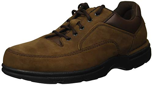 Rockport Men's Eureka Walking Shoe Oxford, Chocolate, 10 XW US (Best Shoes For Diabetics)