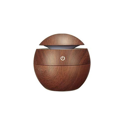 BRITSPEAR® Wooden Aroma Diffuser Humidifier cool mist Air Diffuser Air Purifier humidifier for bedroom | humidifiers for room (multi color)