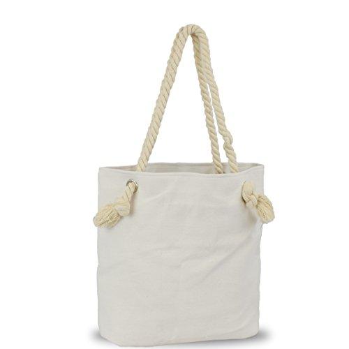 rosa Originelli Fehmarn Kreis Tasche grau Anker Beach Shopper Strandtasche Sonia T021 vSxwqgHTS