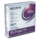 Sony DLT-4 Tapes 40/80GB, Part # DL4TK88