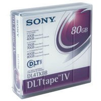 Sony DLT-4 Tapes 40/80GB, Part # DL4TK88