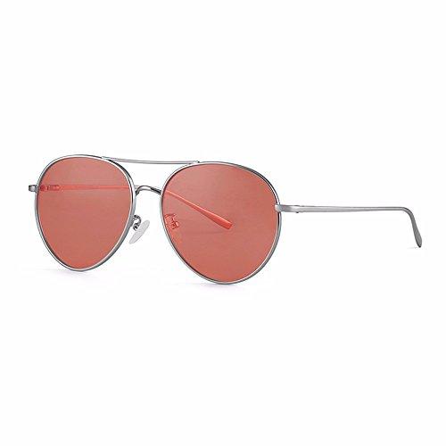 contra gafas protección nuevas de gafas radiación para la XIAOGEGE sol Brown mujer marrón Las de S5vzwxqUf
