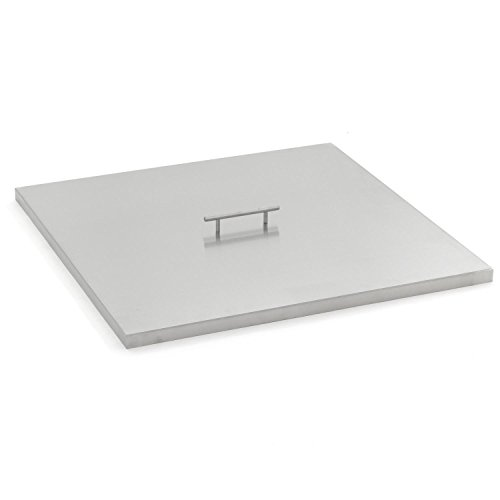 Lakeview Outdoor Designs 27-inch Stainless Steel Burner Lid - Fits 24-inch Square Fire Pit Pan